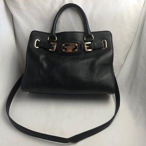MICHAEL Michael Kors Black Medium Hamilton Bag